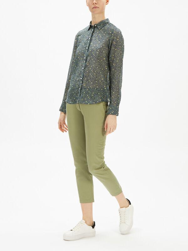 Lemonade Cotton Silk Shirt