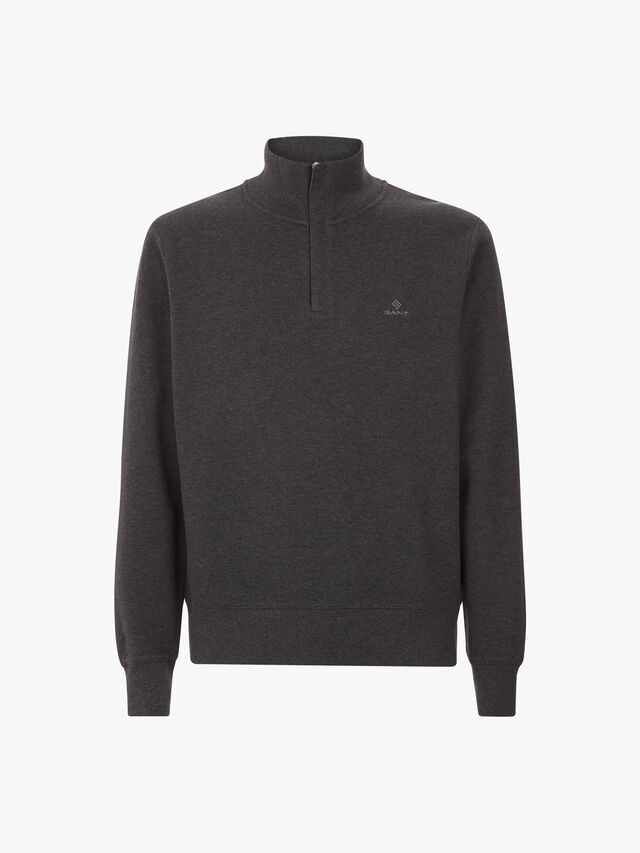 Sacker Rib Half Zip Sweatshirt