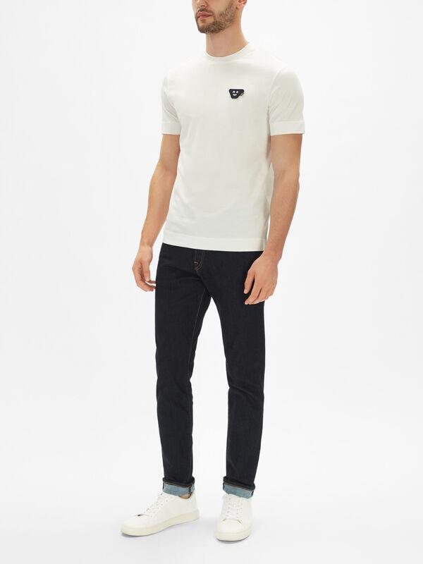 Short Sleeve Emoji Sticky T-Shirt