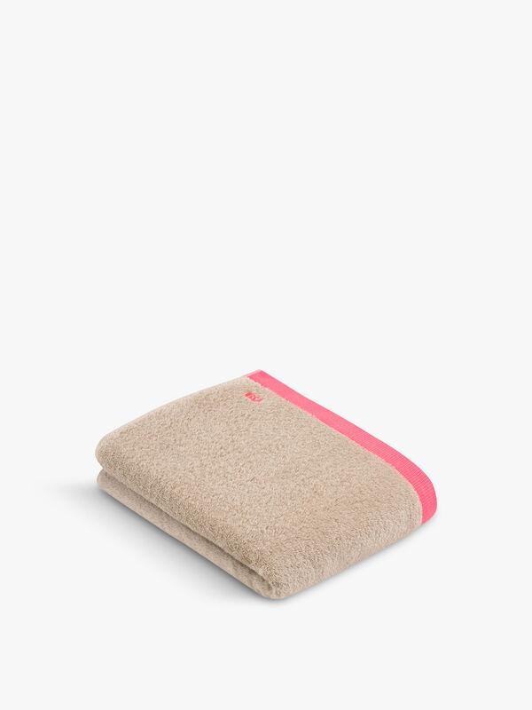 Funky Neon Trim Towel