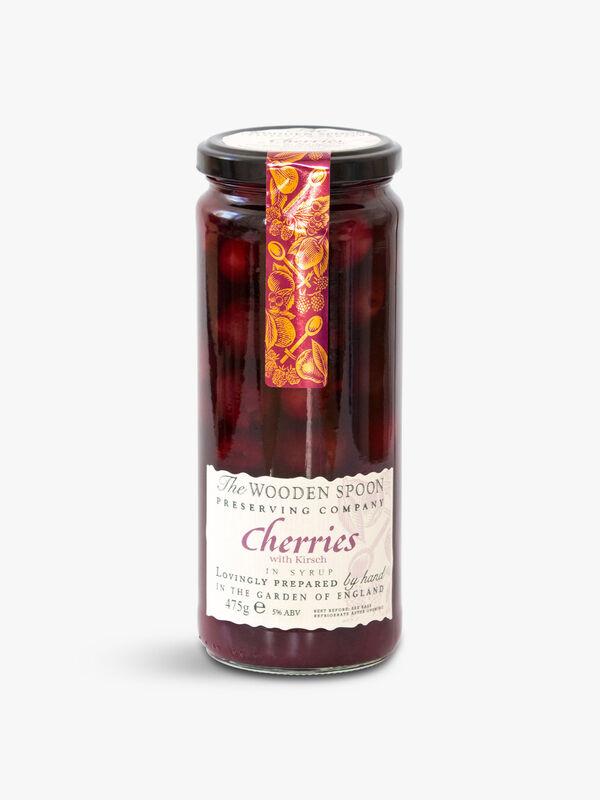 Cherries in Kirsch 475g