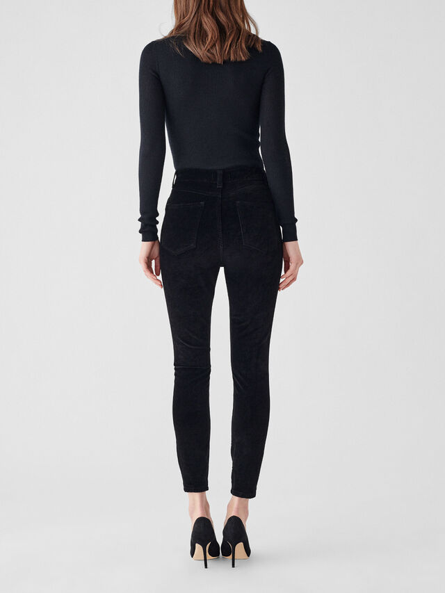 Chrissy Ultra High Rise Skinny Ankle Jeans