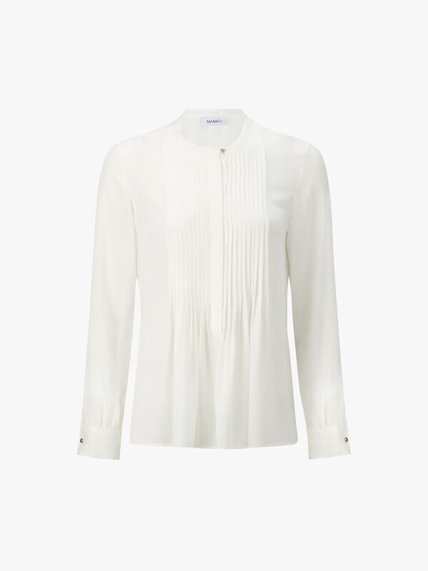 Caffeina Pleated Front Shirt