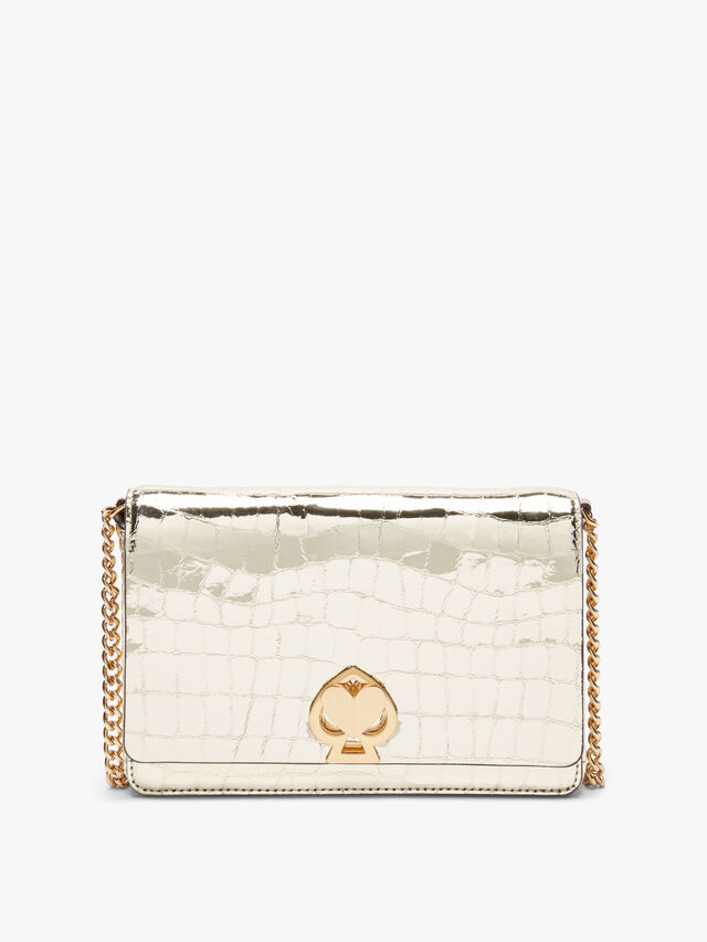 Romy Metallic Chain Wallet