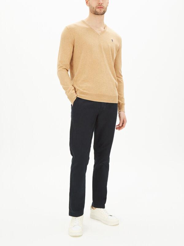 Slim Fit Cotton Sweatshirt