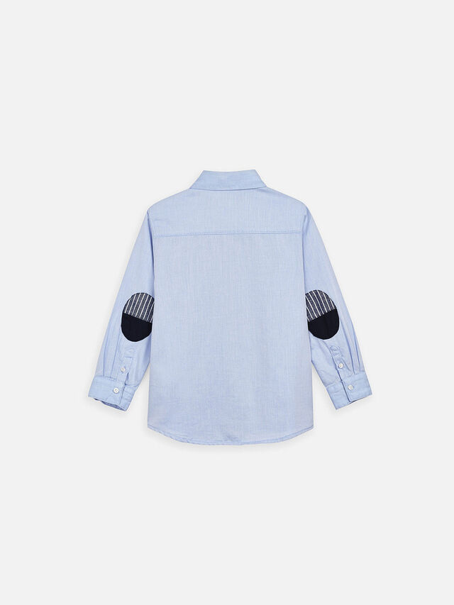 Long Sleeved Patch Shirt