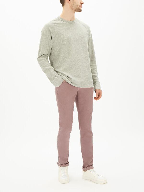 Cotton Raglan Pullover