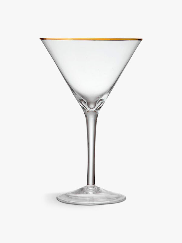 Chloe Clear Martini Glass