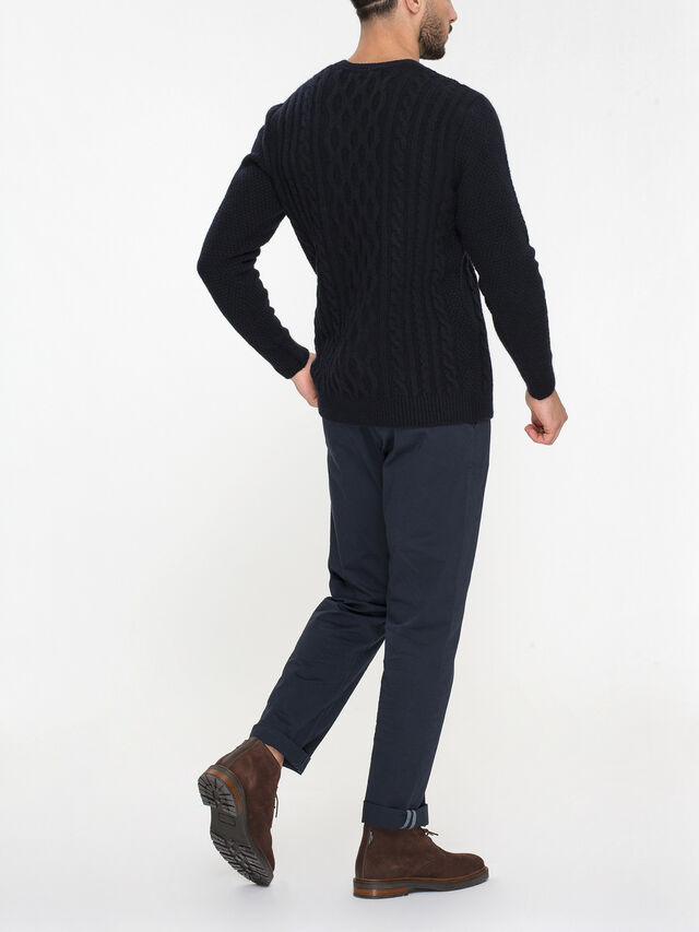 Chunky Cable Sweatshirt
