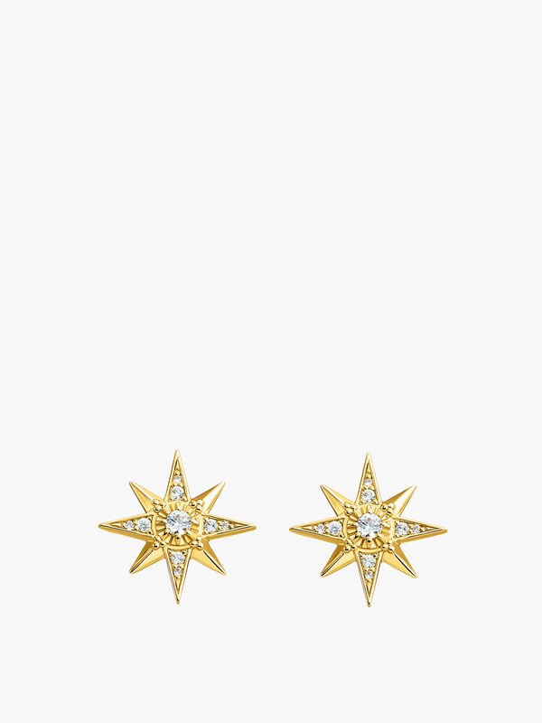 Magic Star Studs Earrings