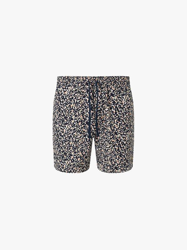 Val Terrazzo Print Shorts