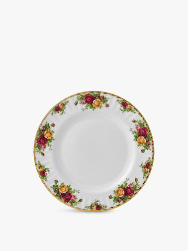 Old Country Roses Plate 27cm