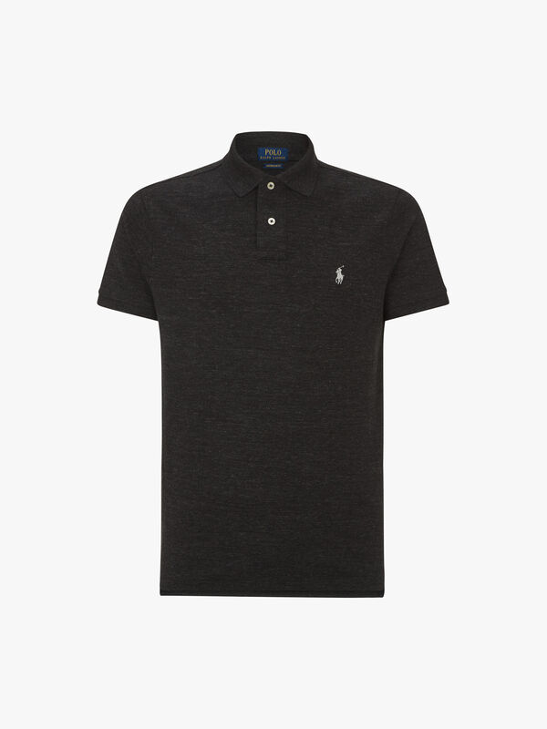 Custom Slim Fit Mesh Polo