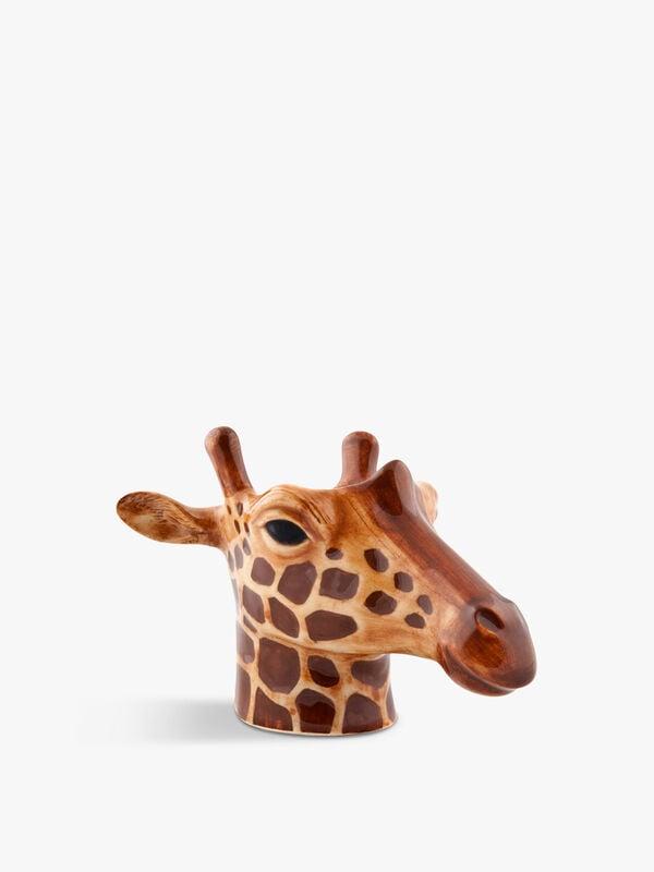 Giraffe Face Egg Cup Pair