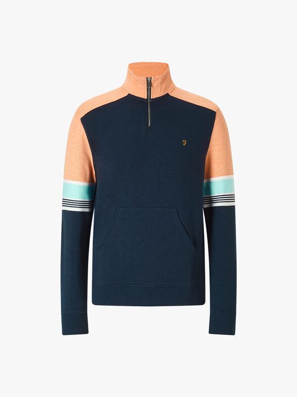 West Quarter Zip Sweater
