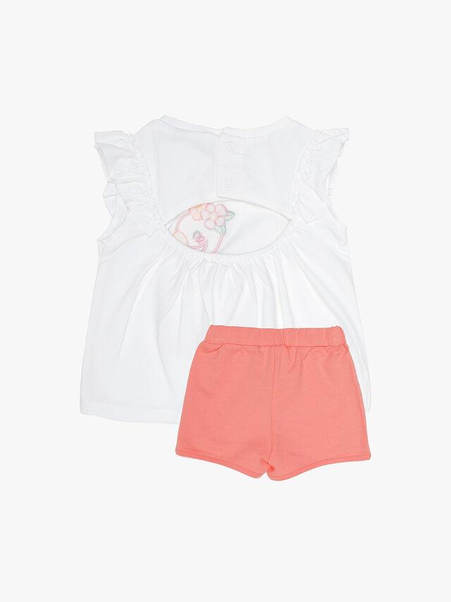 Tropical Bird Shorts Set