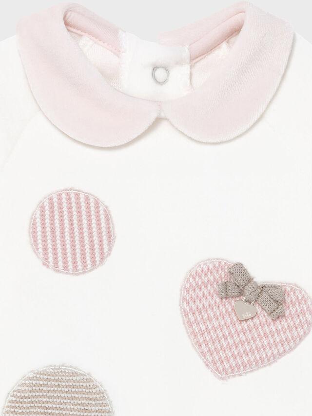 2PC Hearts Velour