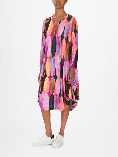 Utas-Printed-Balloon-Hem-Dress-21572