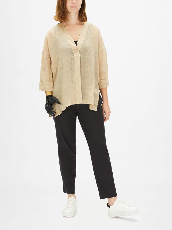 Jane Fine Linen Jacket