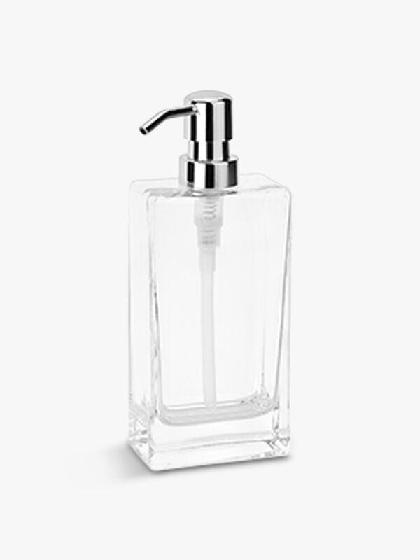 Transparent Glass Soap Dispenser