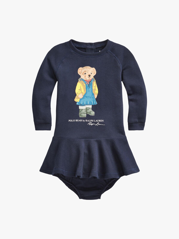 Cruise Bear Dress & Bloomer