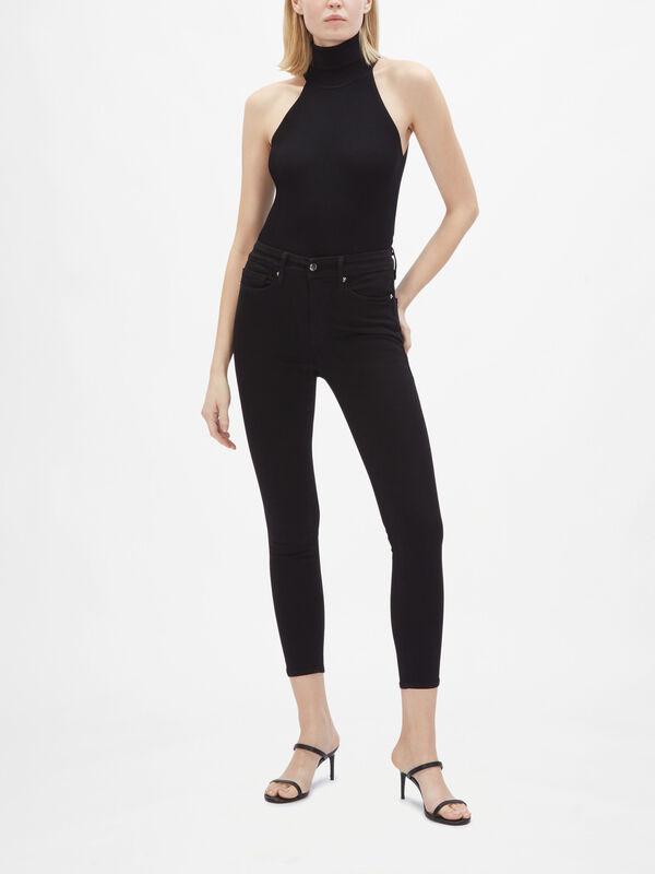 Good Legs High Rise Skinny Crop Jeans
