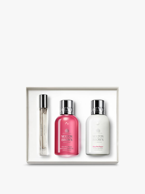 Fiery Pink Peppercorn Fragrance Collection Gift Set