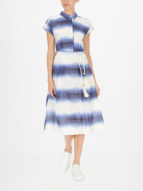 Sosia Belted Sleeveless Dress With Belt Tie