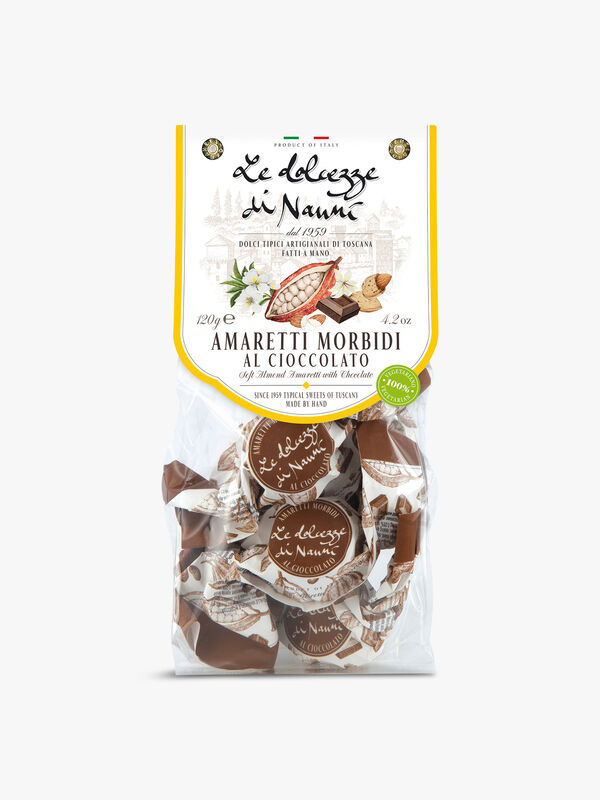 Soft Almond Biscuit with Chocolate 120g