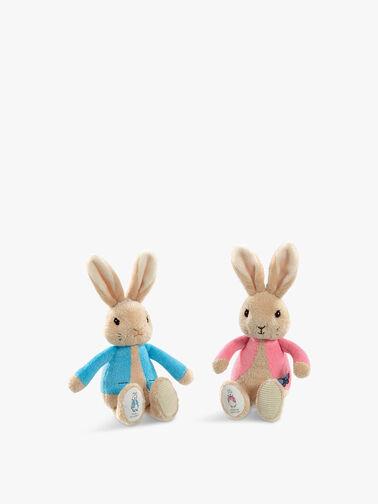Peter Rabbit & Flopsy Bunny Bean Rattles
