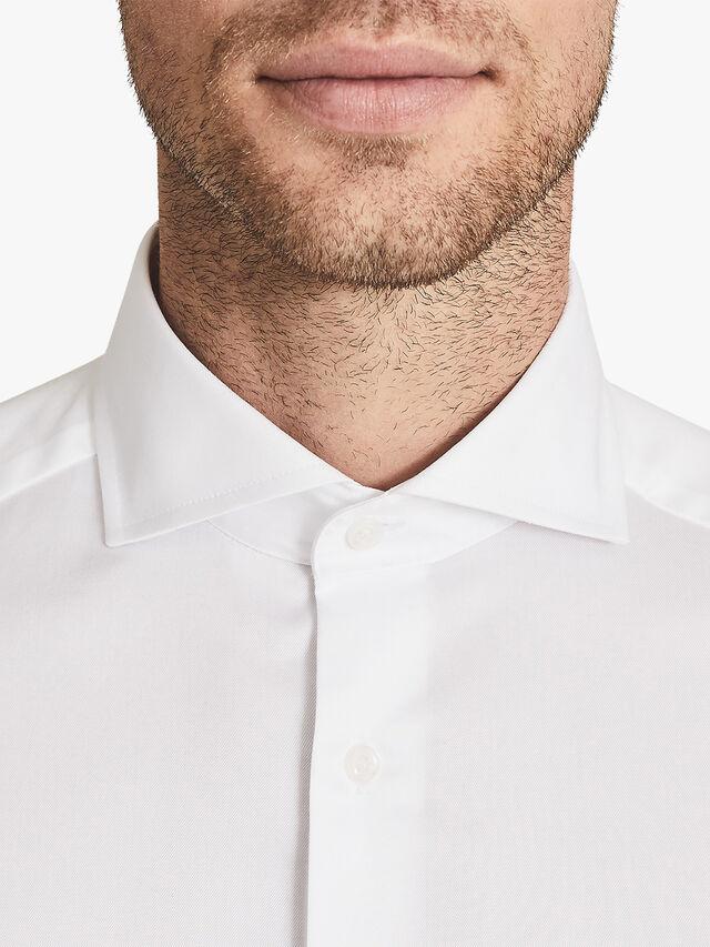 Storm Two Fold Cutaway Collar Slim Fit Shirt
