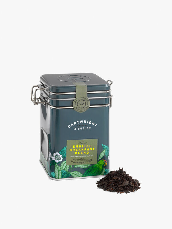 English Breakfast Tea Caddy