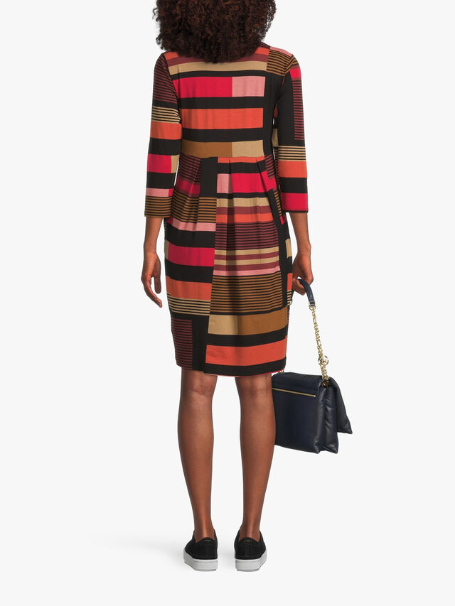 Noma Jersey Stripe Mix Dress