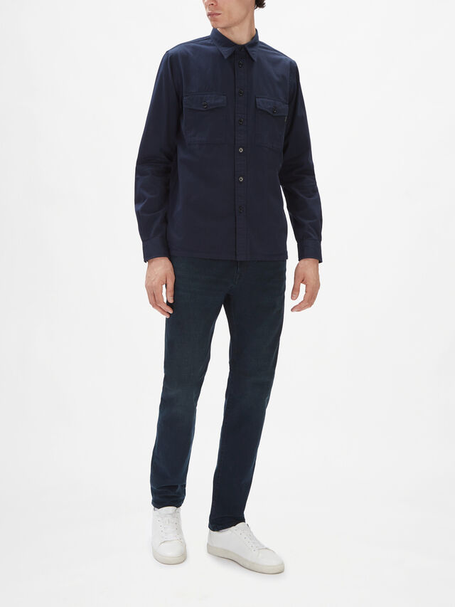 Casual Double Pocket Shirt