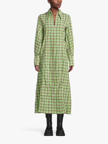 Seersucker-Check-Shirt-Dress-F6407