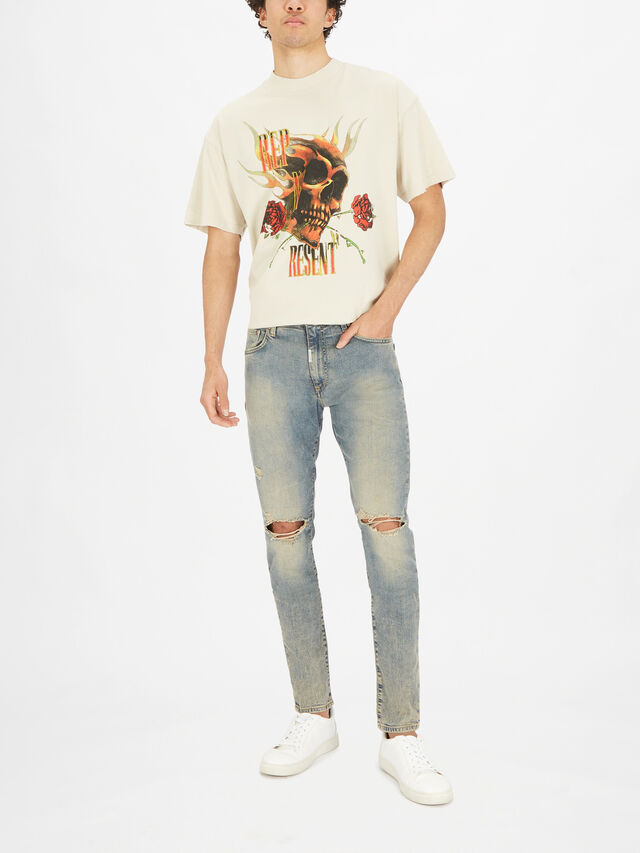 Skinny Destroyer Denim