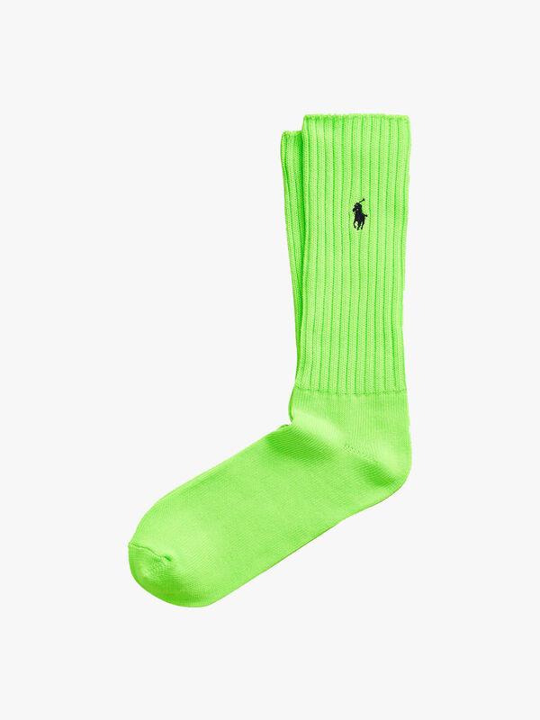 Beach Shop Bright Slouch Sock