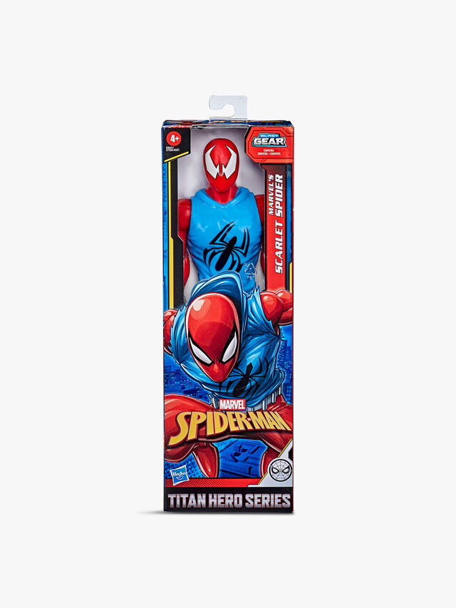 Titan Hero Series Blast Gear Scarlet Spider