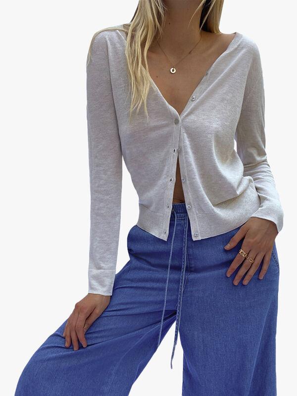 Klarise Recycled Long Sleeve Cardigan