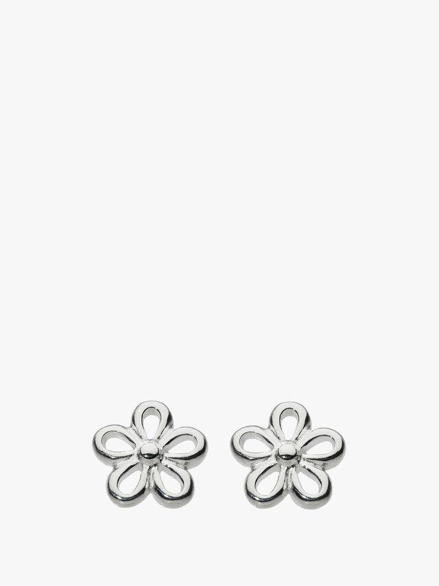 Simple Flower Stud Earrings