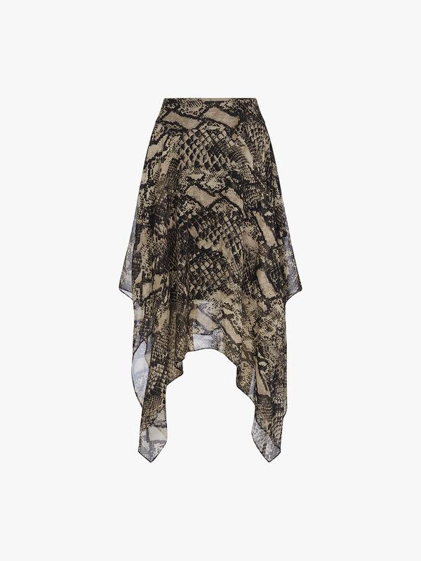 Zendaya Snake Skin Skirt