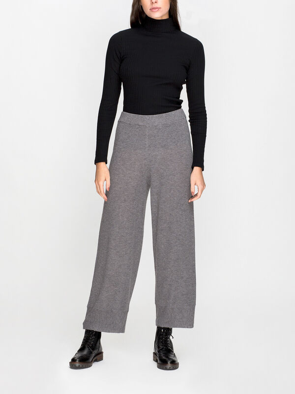 Perana Knitted Wide Leg Pant