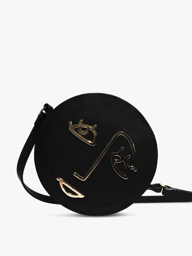 Hope Round Crossbody with Face