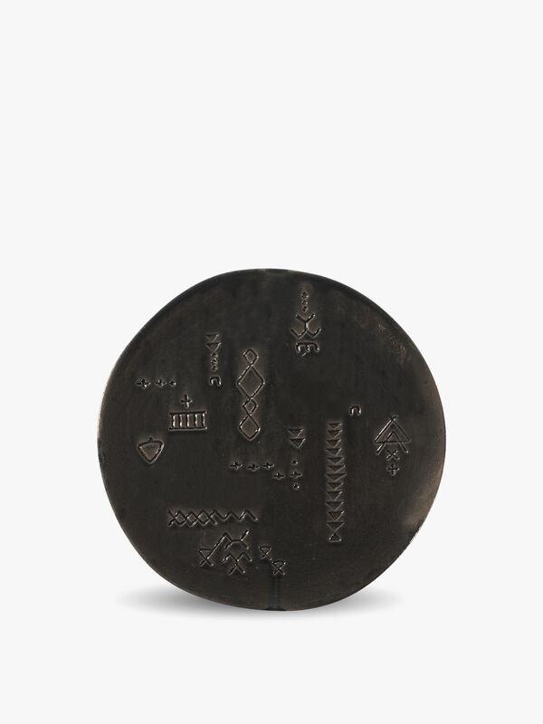 Marks Charcoal Artisan Dessert Plate