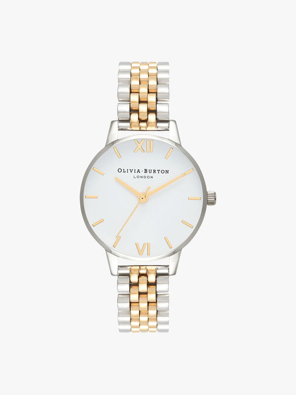 Classics Gold And Silver Bracelet Watch