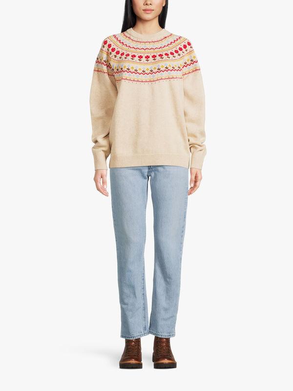 Slouchy Crewneck Sweater