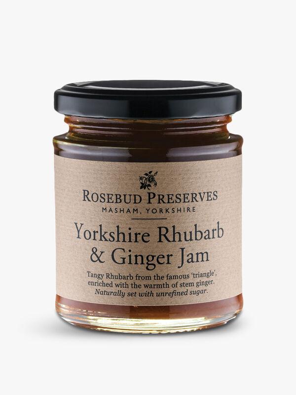 Yorkshire Rhubarb & Ginger Jam 227g