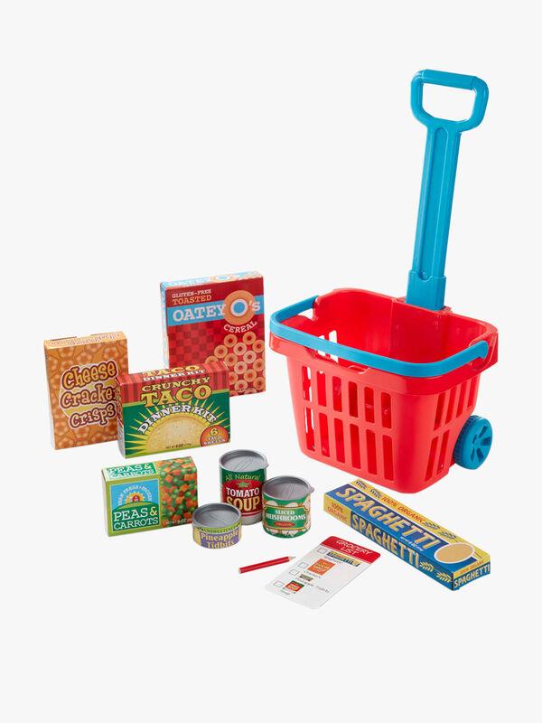 Grocery Basket Play Set
