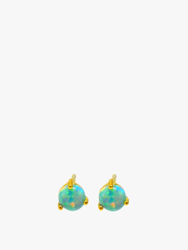Opal Stud Earring