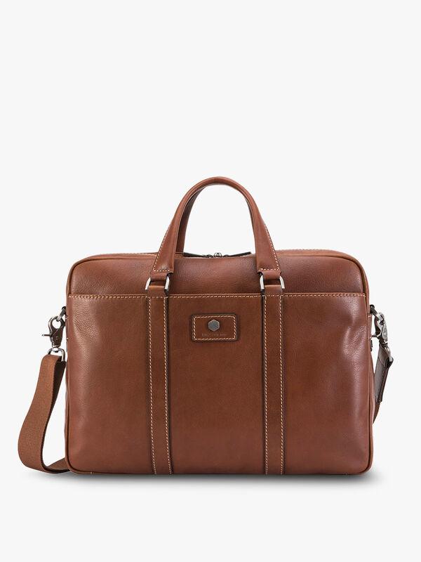 "Montana Slim Laptop Briefcase 15"""
